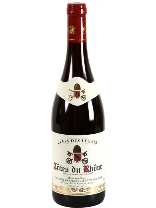 Вино Cellier des Dauphins, Clefs de Legats Cotes du Rhone AOC 0.75 л