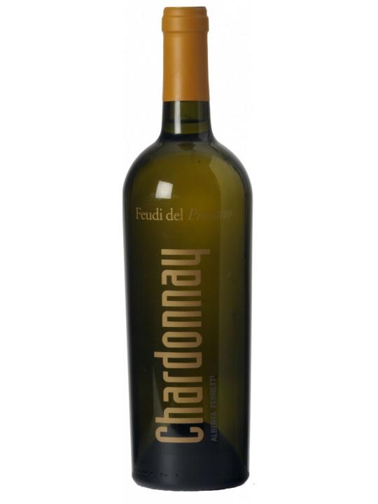 Вино Feudi del Pisciotto, Alberta Ferretti Chardonnay, Sicilia IGT 2017 0.75 л