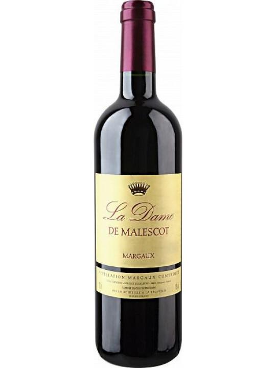 Вино Chateau Malescot St.Exupery, La Dame de Malescot, Margaux AOC 2011 0.75 л