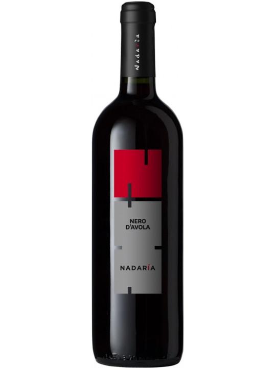 вино красное сухое Nadaria Nero D Avola Terre Siciliane Igt 2018 0 75 л купить вино надария неро д авола 2018 750 мл
