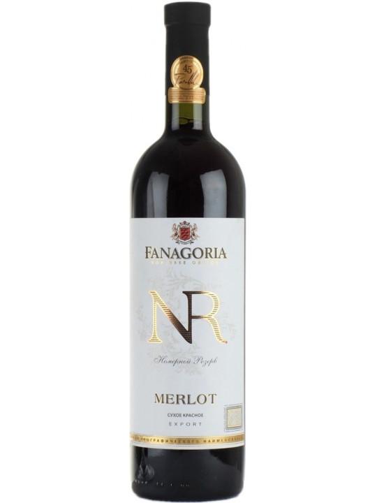 Вино Фанагория, Номерной резерв Мерло 0.75 л