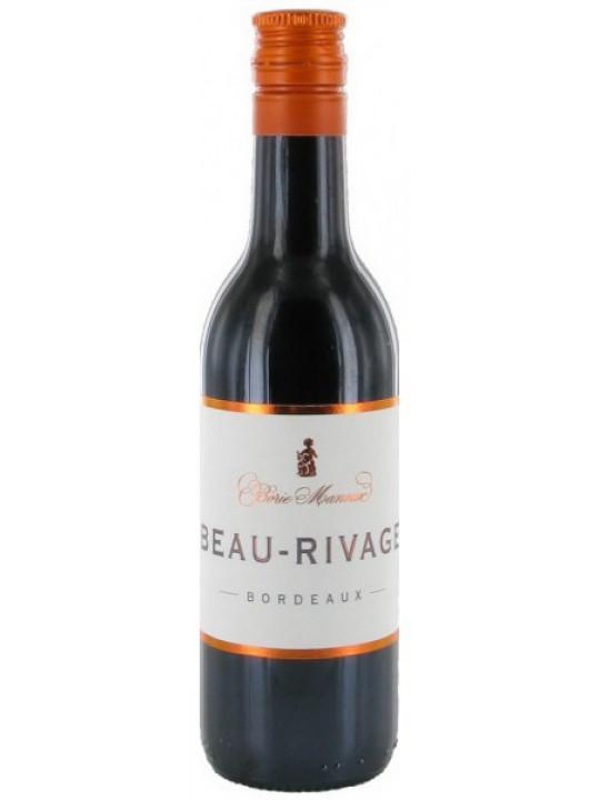 Вино Borie-Manoux, Beau-Rivage Rouge, Bordeaux AOC 0.187 л