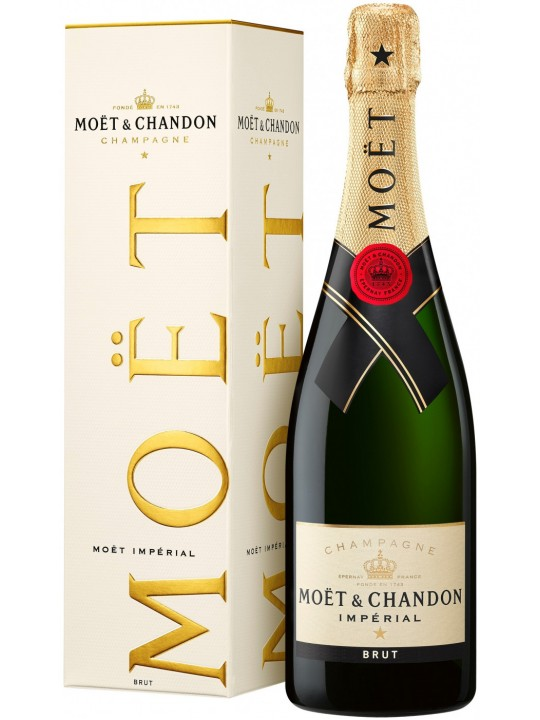 Шампанское Moet & Chandon, Brut Imperial, gift box 0.75 л