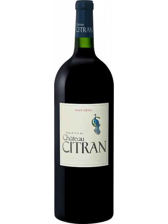 Вино Chateau Citran, Haut-Medoc AOC Cru Bourgeois 2014 1.5 л