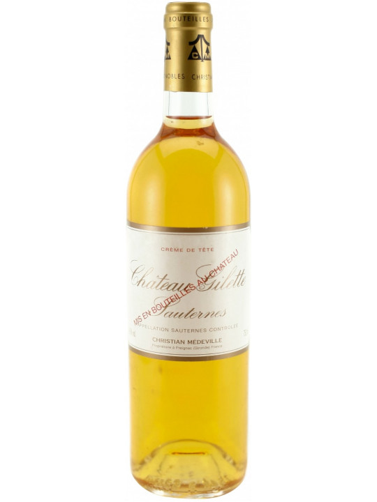 Вино Chateau Gilette, Sauternes AOC 1990 0.75 л
