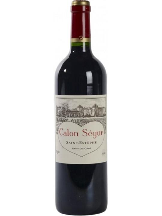 Вино Chateau Calon-Segur Saint-Estephe 3-eme Grand Cru Classe 2001 0.75 л