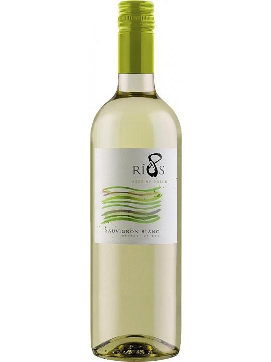 Вино 8 Rios Sauvignon Blanc 2015 0.75 л