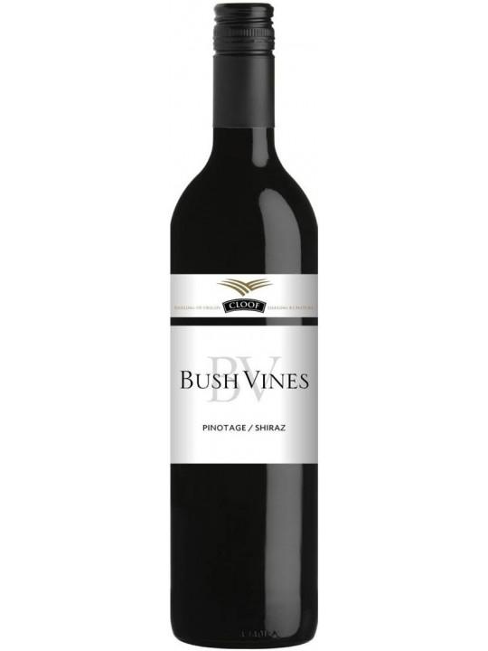 Вино Cloof, Bush Vines Pinotage-Shiraz 2017 0.75 л