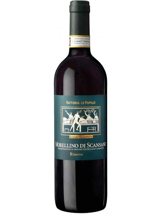 Вино Fattoria Le Pupille, Morellino di Scansano Riserva DOCG 2013 0.75 л