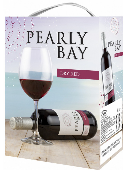 Вино KWV, Pearly Bay Dry Red, bag-in-box 3 л