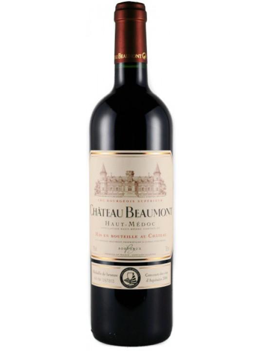 Вино Chateau Beaumont Haut-Medoc AOC Cru Bourgeois Superieur 2007 0.75 л