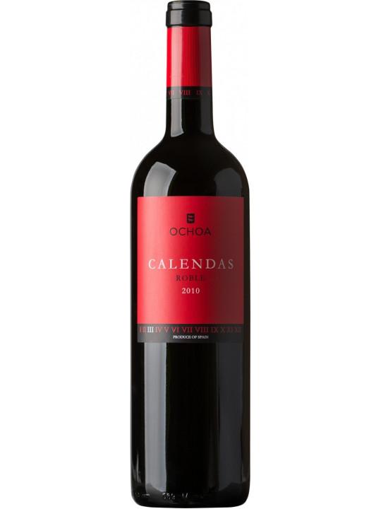 Вино Ochoa, Calendas Roble 2010 0.75 л