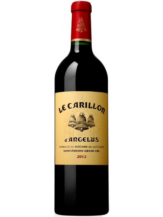 Вино Le Carillon de l'Angelus, Saint-Emilion AOC 2012 0.75 л