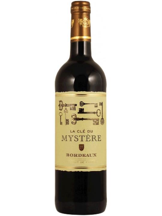 Вино La Cle du Mystere Rouge, Bordeaux AOC 2016 0.75 л