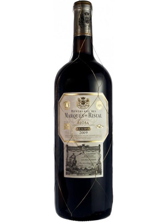 Вино Herederos del Marques de Riscal Reserva, Rioja DOC 1.5 л
