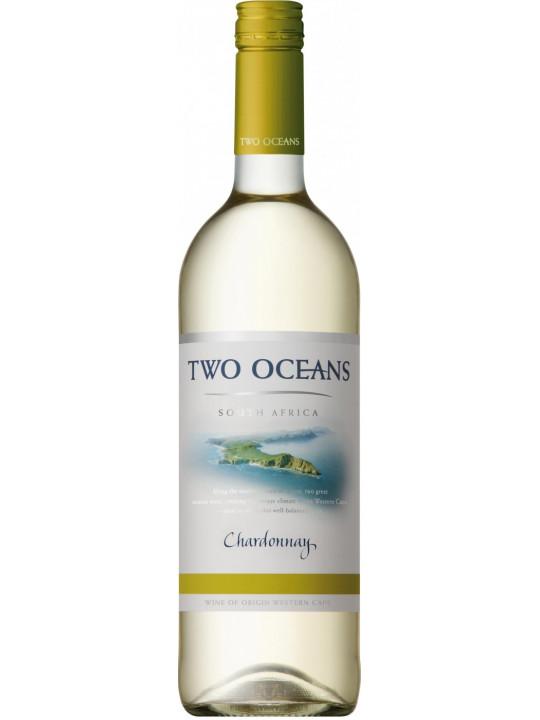Вино Two Oceans Chardonnay 2016 0.75 л
