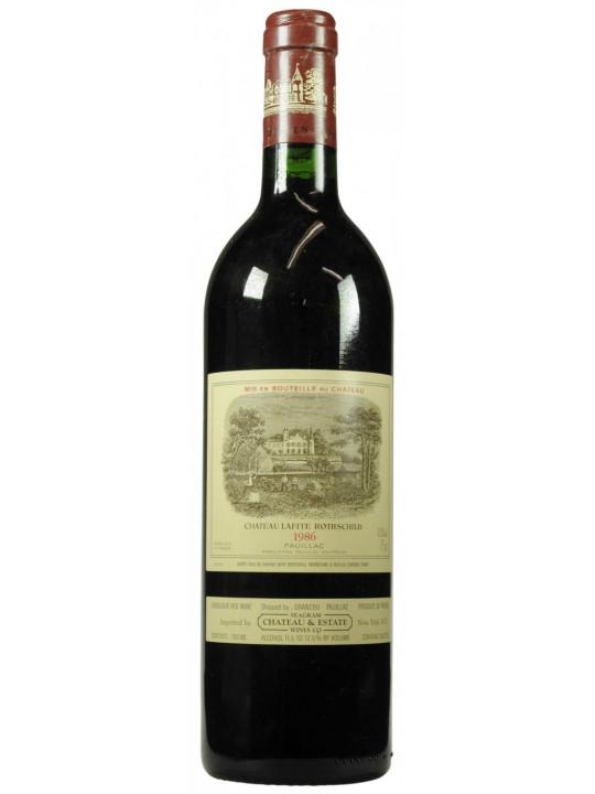 Вино Chateau Lafite Rothschild Pauillac AOC 1-er Grand Cru 1986 0.75 л