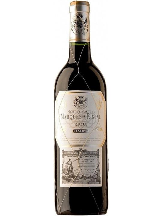 Вино Herederos del Marques de Riscal Reserva, Rioja DOC 2014 1.5 л