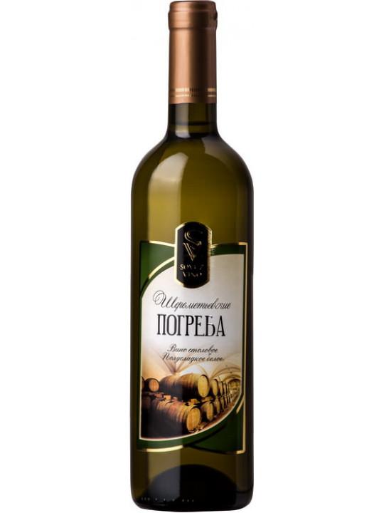Вино Шереметьевские Погреба полусладкое 0.75 л