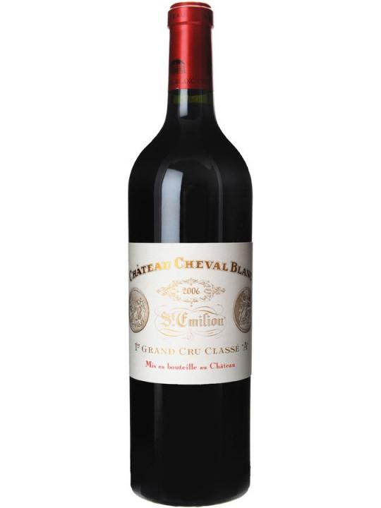 Вино Chateau Cheval Blanc, St-Emilion AOC 1-er Grand Cru Classe 2006 0.75 л