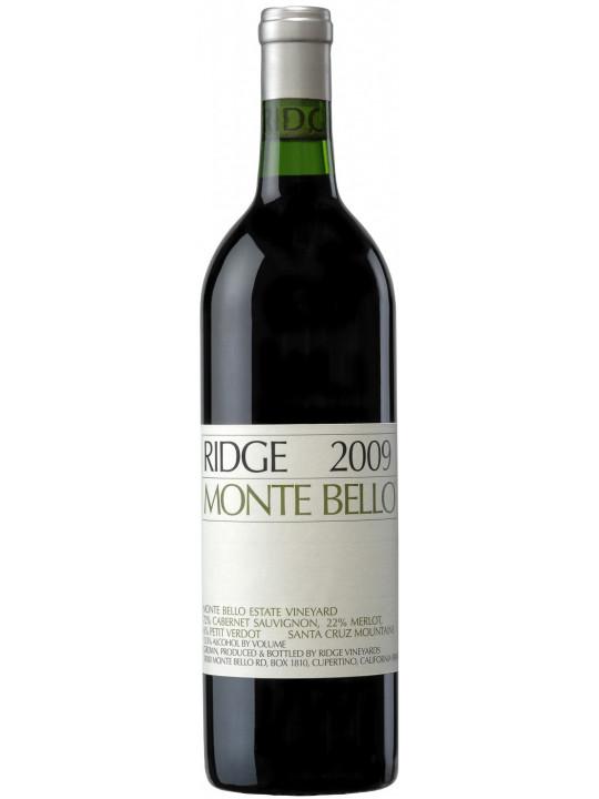 Вино California Monte Bello 2009 0.75 л