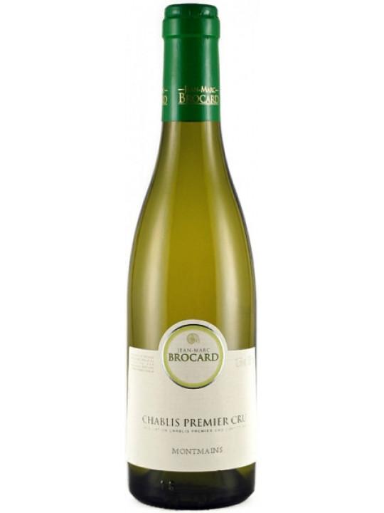 Вино Chablis Premier Cru AOC Montmains 2012 0.375 л
