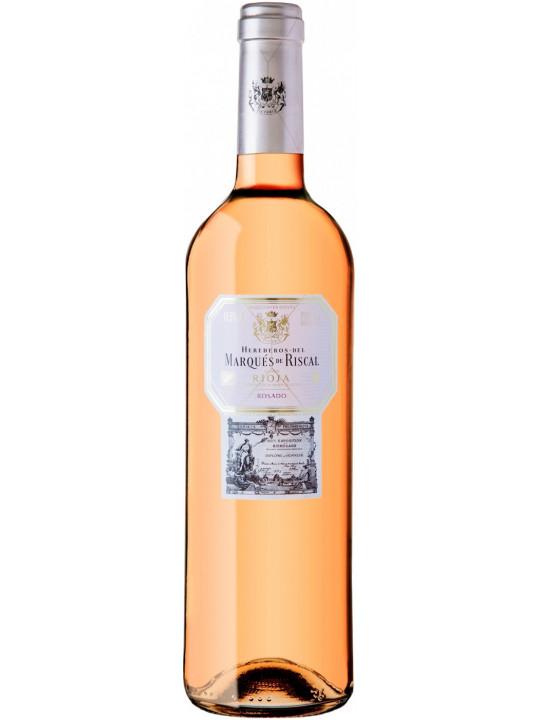 Вино Herederos del Marques de Riscal Rosado, Rioja DOC 2018 0.75 л