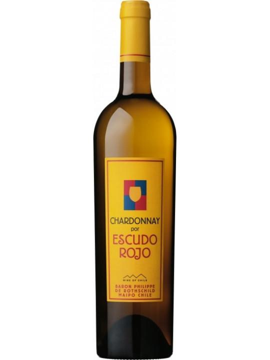Вино Baron Philippe de Rothschild, Chardonnay por Escudo Rojo 2012 0.75 л