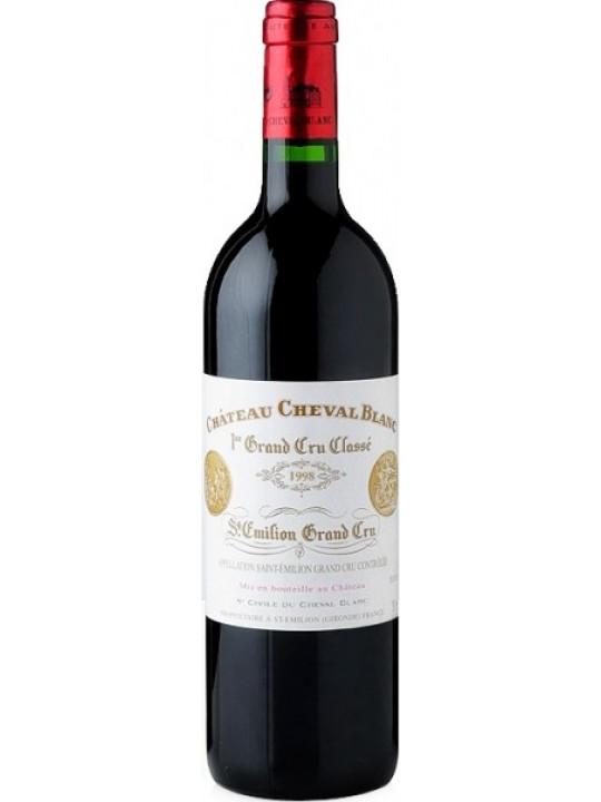 Вино Chateau Cheval Blanc, St-Emilion AOC 1-er Grand Cru Classe 1998 0.75 л