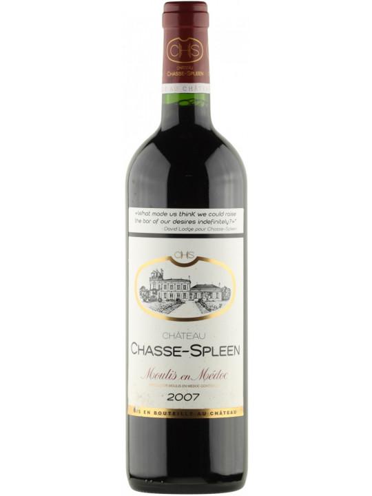 Вино Chateau Chasse Spleen Moulis-en-Medoc AOC Cru Bourgeois 2007 0.75 л