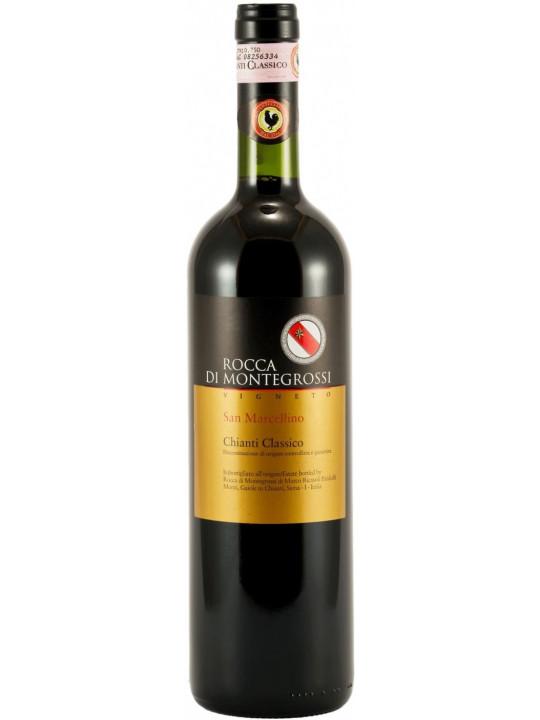 Вино Rocca di Montegrossi, Vigneto San Marcellino, Chianti Classico DOCG 2009 1.5 л