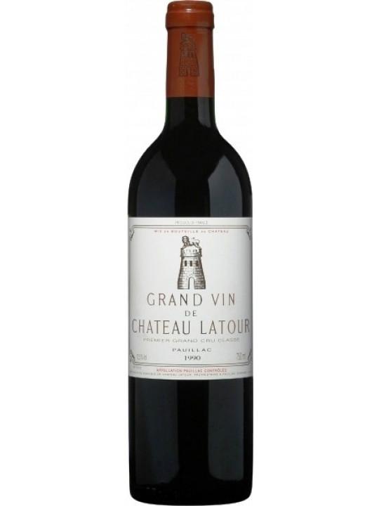 Вино Chateau Latour Pauillac AOC 1-er Grand Cru Classe 1990 0.75 л