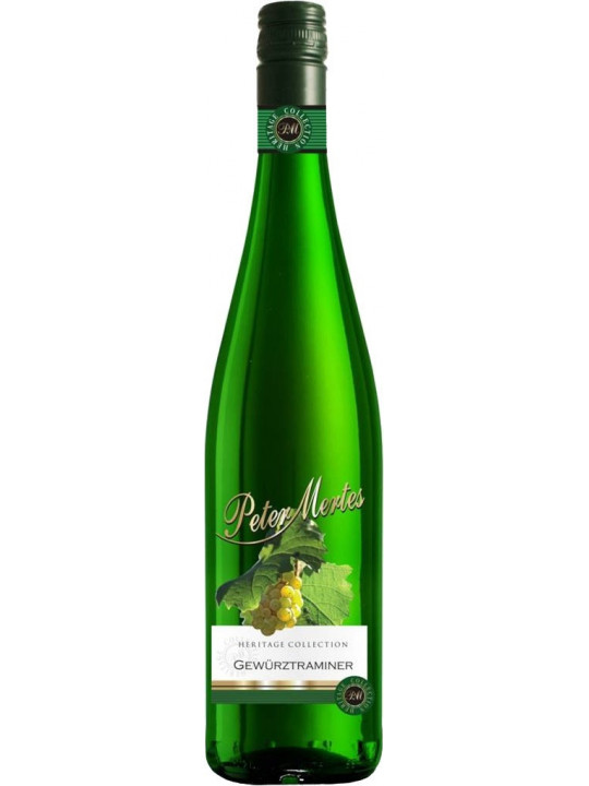 Вино Peter Mertes, Gewurztraminer 2016 0.75 л