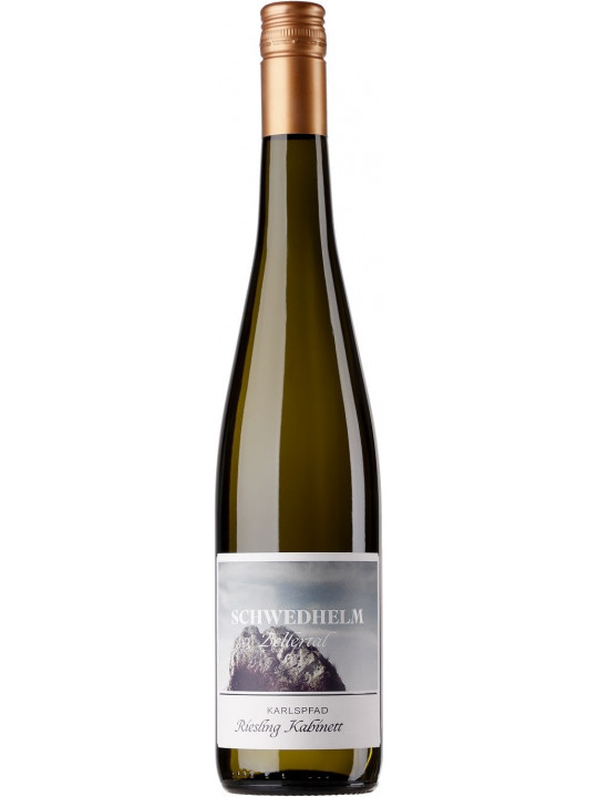 Вино Schwedhelm, Zellertal Karlspfad Riesling Kabinett 0.75 л