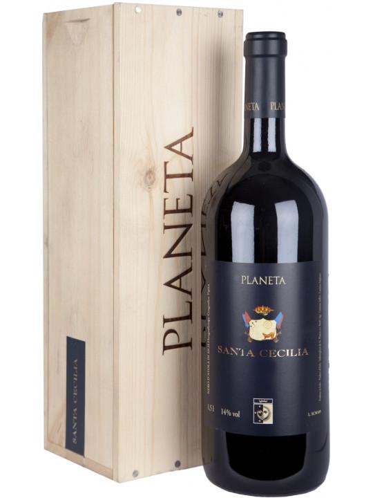 Вино Planeta, Santa Cecilia, Sicilia IGT, wooden box 2009 3 л