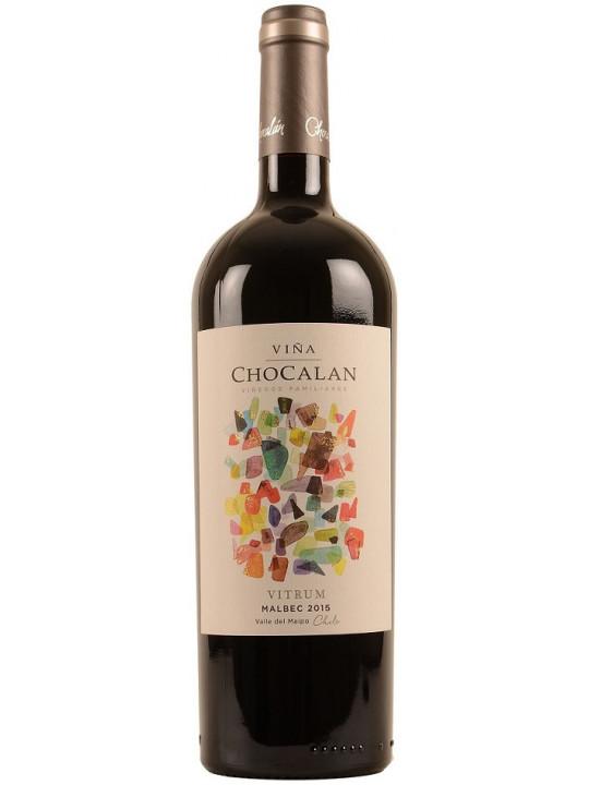 Вино Vina Chocalan, Vitrum Malbec 2015 0.75 л