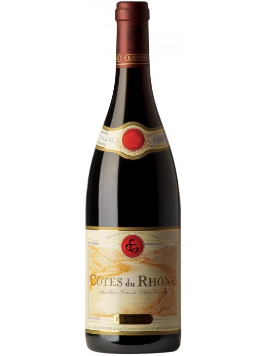 Вино E. Guigal, Cotes du Rhone Rouge 2009 0.75 л