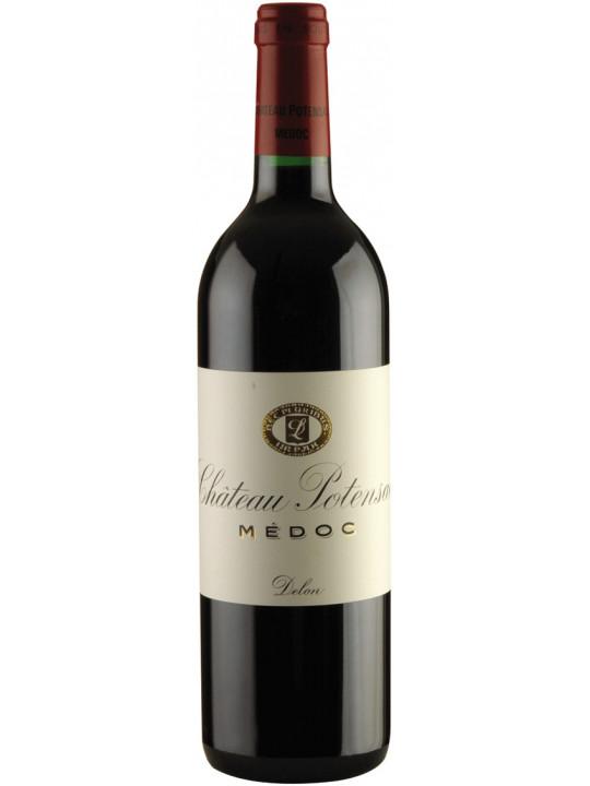 Вино Chateau Potensac, Medoc AOC Cru Bourgeois 2013 1.5 л