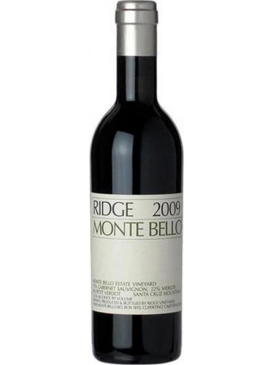 Вино California Monte Bello 2009 0.375 л
