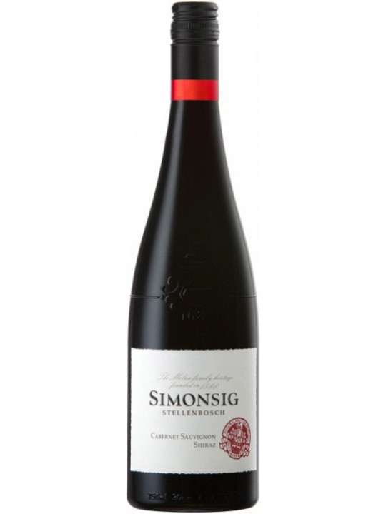 Вино Simonsig, Cabernet Sauvignon-Shiraz 2017 0.75 л