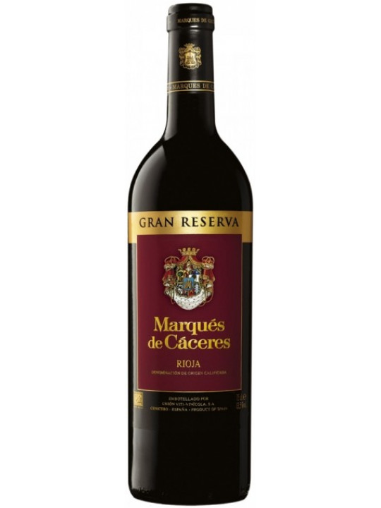 Вино Marques de Caceres, Gran Reserva 2004 0.75 л
