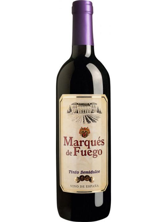 Вино Marques de Fuego Tinto Semidulce 0.75 л