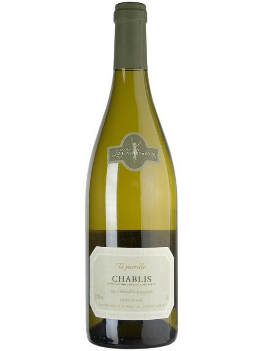 Вино Chablis АОС La Pierrelee 2015 0.75 л