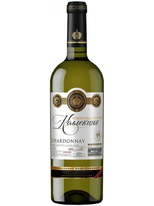 Вино Национальная Коллекция Шардоне 0.75 л