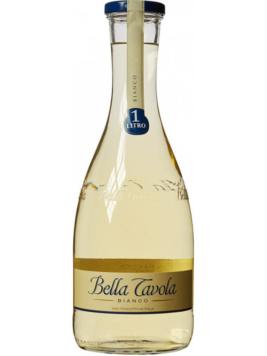 Вино Riunite, Bella Tavola Bianco Semi-secco 1 л
