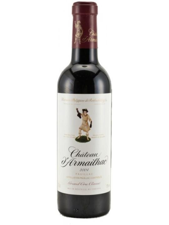 Вино Chateau d'Armailhac Pauillac AOC 5-me Grand Cru Classe 2007 0.375 л