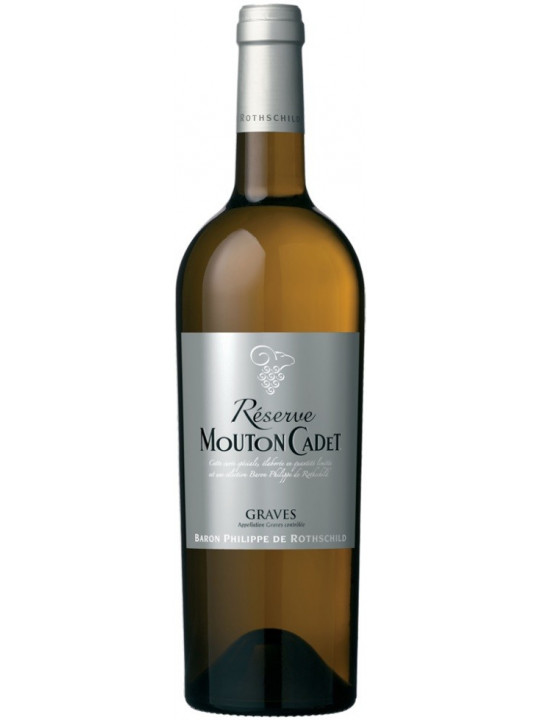 Вино Reserve Mouton Cadet Graves AOC Blanc 2013 0.75 л
