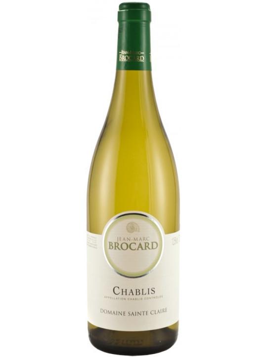 Вино Jean-Marc Brocard, Chablis AOC 2015 0.75 л