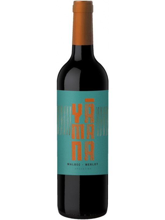 Вино Yamana Malbec-Merlot 2017 0.75 л