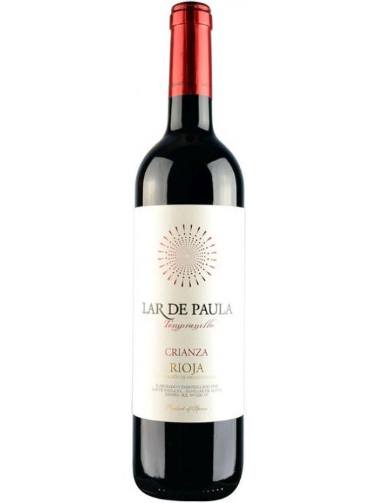 Вино Lar de Paula, Tempranillo Crianza, Rioja DOC 2008 0.75 л